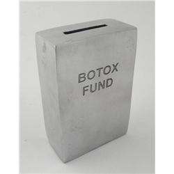 Botox Fund Coin Bank Humorous Diet Gift Desk Item