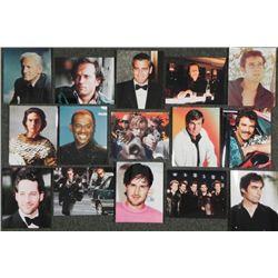 "15 Famous Actor Stills 8"" x 10"" Photo Celebrity"
