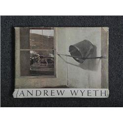 Andrew Wyeth Art Book -Richard Meryman, Large HC, 1968
