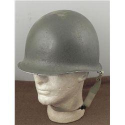 KOREAN WAR U.S. M1 HELMET & LINER-CAPAK/WESTINGHOUSE