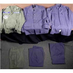 US AIR FORCE UNIFORMS-MILITARY AIRLIFT COMMAND-& BLUES