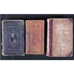 3 Antique HC Religion Books Mason Self Knowledge 1822