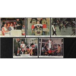 5 The Caper of the Golden Bulls Lobby Photo Cards 1966