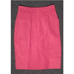 Edwards Ladies Red Suede Skirt Size 10