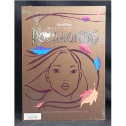 Pocahontas Disney Deluxe Video w/ Art Prints, Book MIB