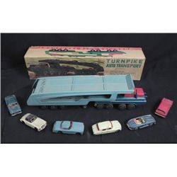 Vintage Turnpike Auto Transport Truck in Orig Box