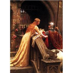 Edward Blair Leighton Art Print God Speed