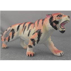 Ceramic Tiger Figruine Made In Japan MIJ