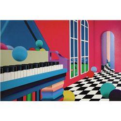 GRAND BALLROOM Abstract Art Print Stan Solomon