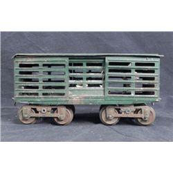 Lionel Large Gauge Model Railroad Car w/Wooden Top