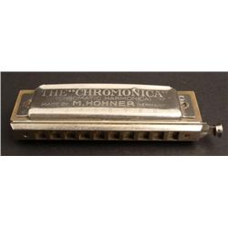 Chromonica Vintage Harmonica M Hohner Germany -Key of C