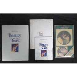 Beauty and the Beast Deluxe Video & Snow White CD MIB