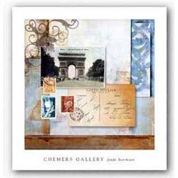 Jonde Northcutt Art Print Paris Reflections II Chemers