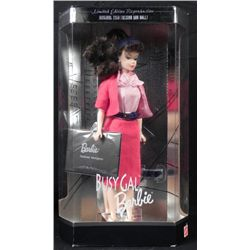 Reproduction Busy Gal Barbie Doll Mint in Box