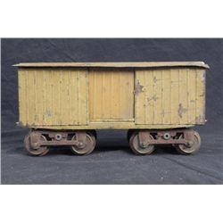 Lionel Large Gauge Model Slat Car w/Wooden Top