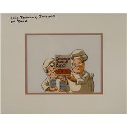Cinnamon Toast Crunch Ad Orig Production Cel & Drawing