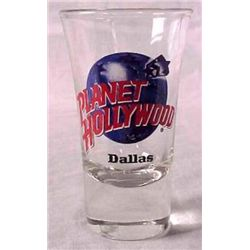 Planet Hollywood DALLAS Shot Glass Case of 144 MIB