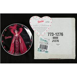 1995 Queen of Hearts Barbie Ltd. Ed. Plate MIB