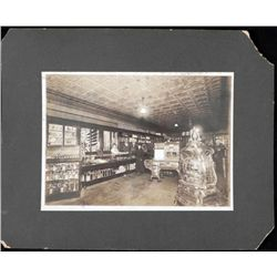Antique Albumen Photograph General Store w/Stoves