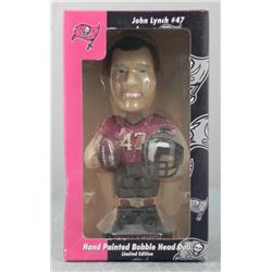 Tampa Bay John Lynch Ltd Ed Bobblehead Doll -MIB