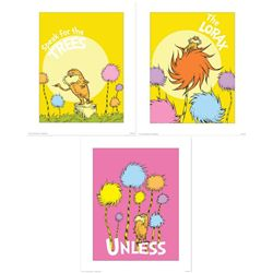 3) Dr Seuss Prints- The Lorax Unless & Speak for Trees