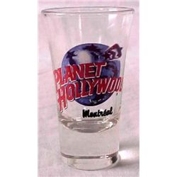 Planet Hollywood MONTREAL Shot Glass Case of 144 MIB