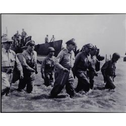 Aluminum Photo Print WWII General MacArthur Philippines