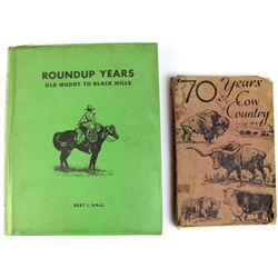 Collection of 2 books includes Roundup Years