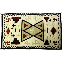 C. late 1920's Navajo rug