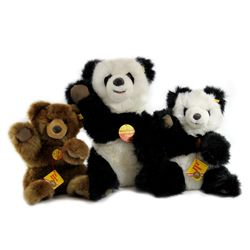 Collection of 3 Steiff Bears