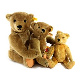 Collection of 3 Steiff Bears Including 2 Limited Edition Margaret Strong Bears