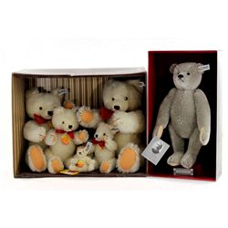 Collection of 6 Steiff Limited Edition Bears