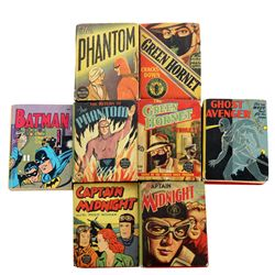 Collection of 8 Superhero Big Little Books