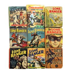Collection of 9 Lone Ranger Big Little Books