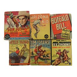 Collection of 6 Western Themed Big Little Books