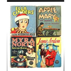 Collection of 4 Women in Mysteries Themed Big Little Books