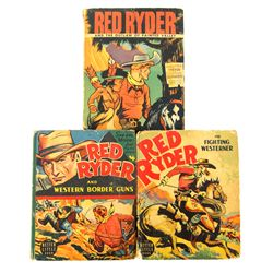 Collection of 3 Red Ryder Big Little Books