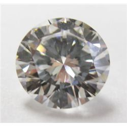 GIA Certified 1.23 carat Round Brilliant Cut Diamond. G color/VVS1 clarity. No Fluoresence- GIA 2141