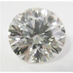 GIA Certified 1.52 carat Round Brilliant Cut Diamond. J color/SI1 Clarity. No fluoresence- GIA 51411