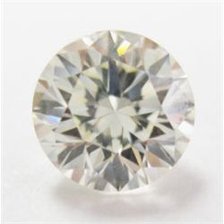 GIA certified- 1.08 carat Round Brilliant cut Diamond. L Color/ VS1 Clarity. Faint Fluorescence. GIA