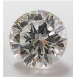 GIA Certified 1.05 carat Round Brilliant Cut Diamond. I color/VS1 clarity. No fluoresence- GIA 51412