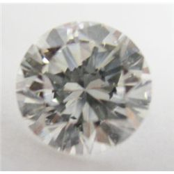 GIA Certified 1.02 carat Round Brilliant Cut Diamond. H color/SI2 Clarity. No Fluoresence. GIA 21455