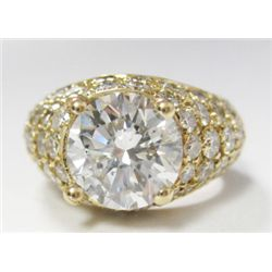 GIA Certified 2.52 carat Round Brilliant Cut Diamond - H color/I1 Clarity. No Fluoresence. GIA 11467
