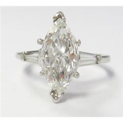 GIA Certified 1.43 carat Marquise Brilliant Cut Diamond. H color/VS2 Clarity- GIA 2141768039, 13.02