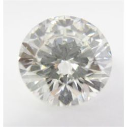 GIA Certified 2.09 carat Round Brilliant Cut Diamond- I color/SI1 Clarity. GIA 2141818849, 8.18 x 8.