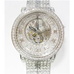Gents 18k White Gold Limited Edition Diamond Corum Watch - 43mm case, automatic movement, Factory or