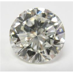 GIA Certified 3.04 carat Round Brilliant Cut Diamond - J color, VS1 clarity, GIA # 2151675867, 9.07