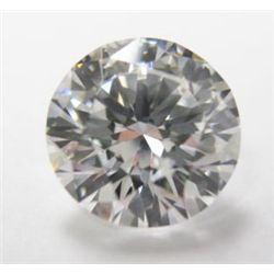 GIA Certified 2.11 carat Round Brilliant Cut Diamond - GIA # 2151012675, G color, SI2 clarity, 8.26