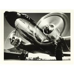 Archive Photos City of Portland Plane Rare Art Print