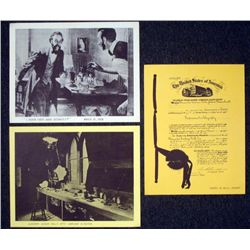 3 Historical Photographs Alexander Graham Bell 1876